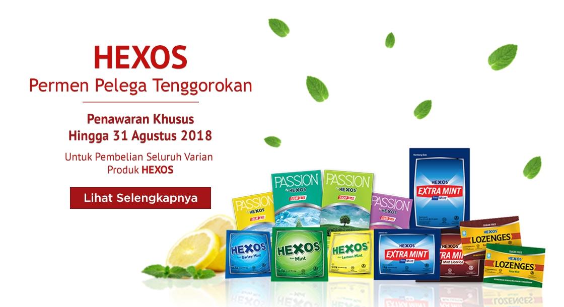 Hexos Agustus 2018
