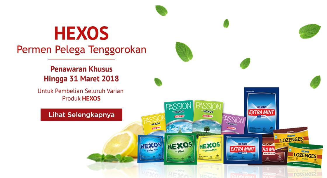 Hexos Maret 2018
