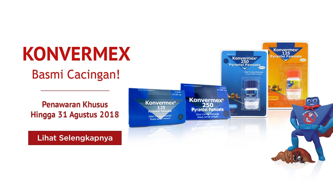 Konvermex Agustus 2018