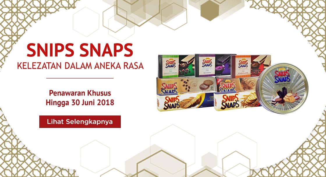Penawaran Snips Snaps Juni 2018