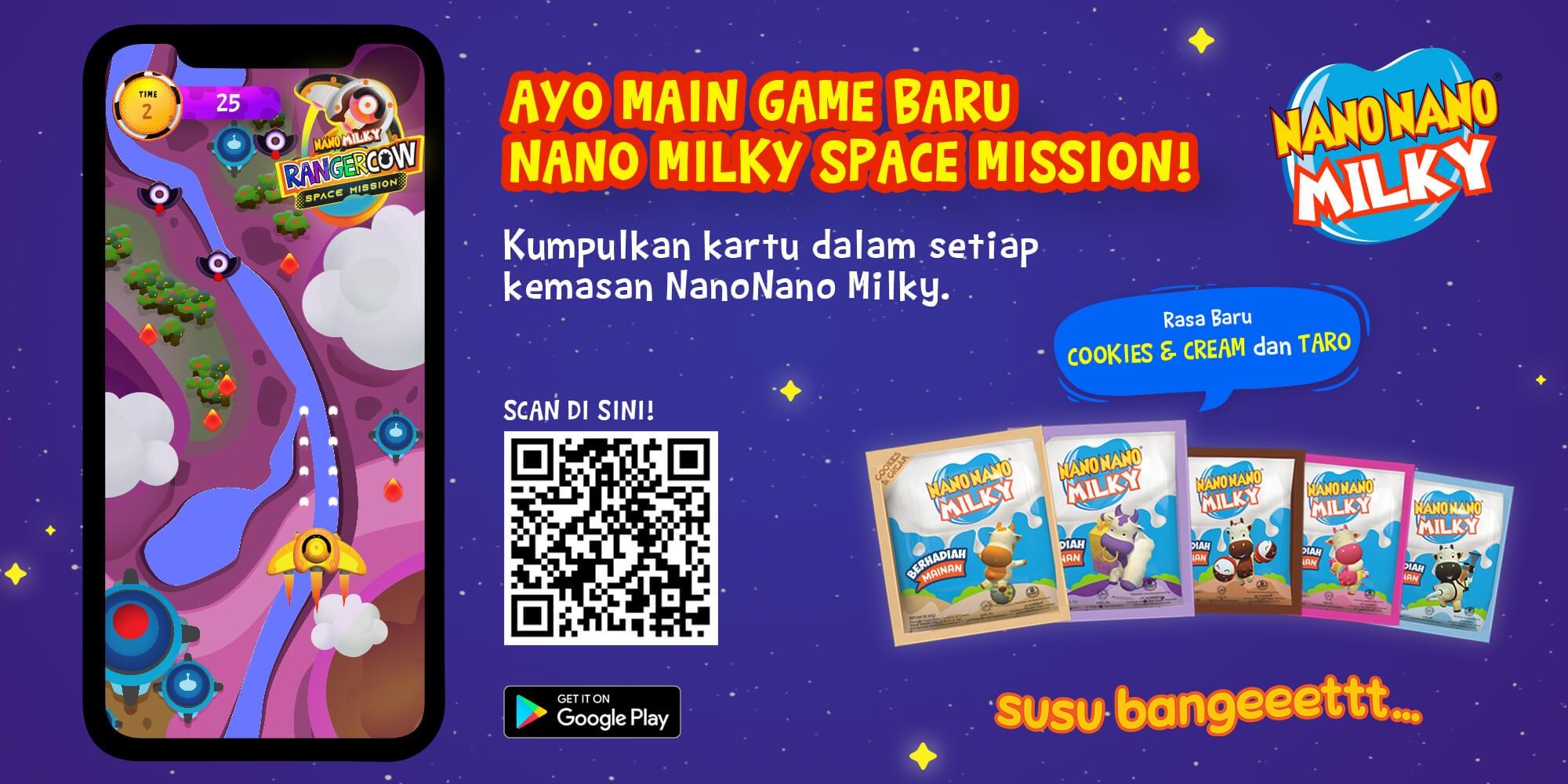 Nano Nano Milky Games