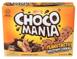 CHOCOMANIA CHOCOCHIP PEANUT COOKIES 90g
