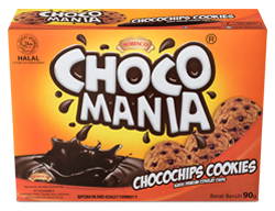 CHOCOMANIA CHOCOLATE CHIP COOKIES 90g