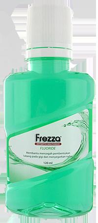FREZZA MOUTHWASH FLUORIDE 120 ML