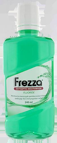 FREZZA MOUTHWASH FLUORIDE 240 ML