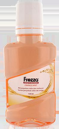 FREZZA MOUTHWASH ORANGE MINT 120 ML