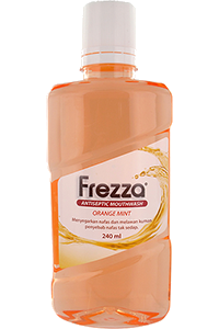 FREZZA Mouthwash – Orange Mint 240 ml