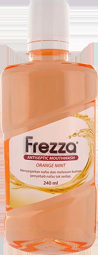 FREZZA MOUTHWASH ORANGE MINT 240 ML