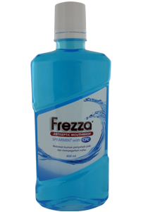 FREZZA Mouthwash – Spearmint with CPC 400 ml
