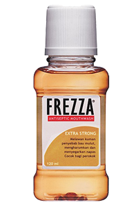 FREZZA MOUTHWASH STRONG MINT 120 ML