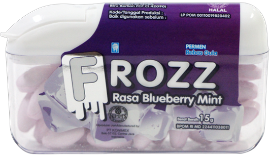 FROZZ BLUEBERRY MINT