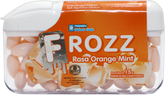 FROZZ ORANGE MINT