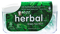 FROZZ HERBAL GREEN TEA MINT