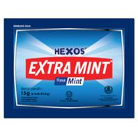HEXOS Extra Mint (dijual per 3 sachet)