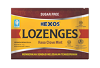HEXOS LOZENGES Clove Mint
