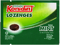 KONIDIN LOZENGES MINT