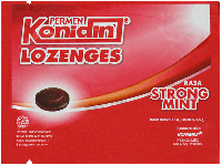 KONIDIN LOZENGES STRONG MINT