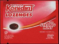KONIDIN LOZENGES STRONG MINT (dijual per 3 sachet)