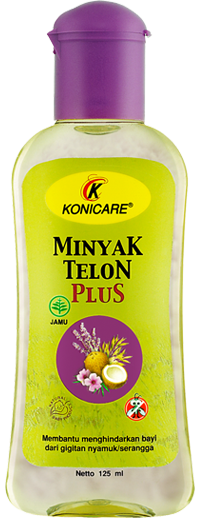 KONICARE MINYAK TELON PLUS 125 ML