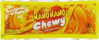 Nano Nano Chewy Rasa Kulit Jeruk (dijual per 3 sachet)