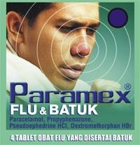 PARAMEX FLU DAN BATUK (dijual per 3 strip)