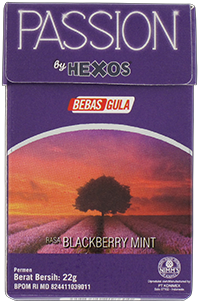 PASSION by HEXOS Blackberry Mint