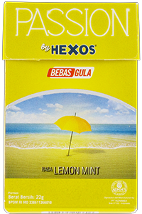 PASSION by HEXOS Lemon Mint