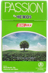 PASSION by HEXOS Teh Hijau Mint