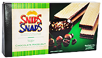 SNIPS SNAPS WAFER CHOCOLATE HAZELNUT