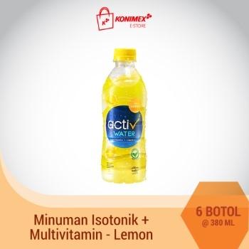 ACTIV WATER LEMON Minuman Isotonik Multivitamin isi 6