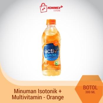 ACTIV WATER ORANGE Minuman Isotonik Multivitamin Botol 380 m
