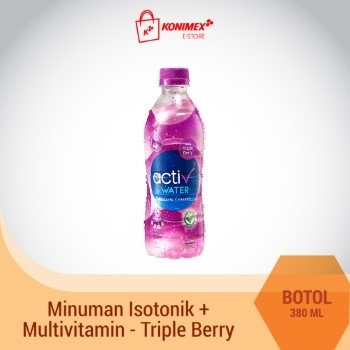 ACTIV WATER TRIPLE BERRY Minuman Isotonik Multivitamin Botol