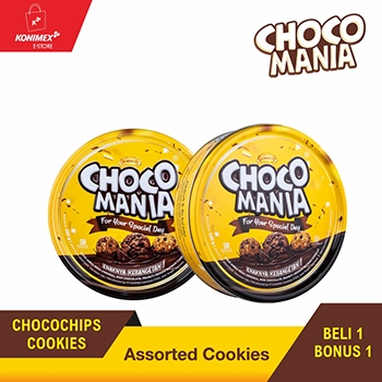 CHOCOMANIA ASSORTED KALENG 1+1