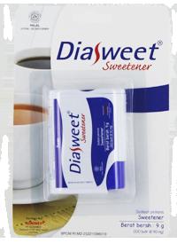 DIASWEET SWEETENER (POT)