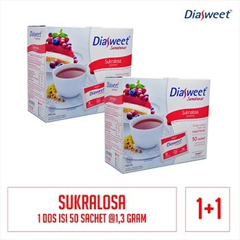 Diasweet Sweetener Sukralosa Bonus 1