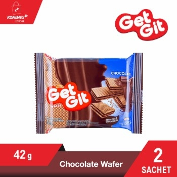 GET GIT WAFER COKELAT 42 G – 2 sachet