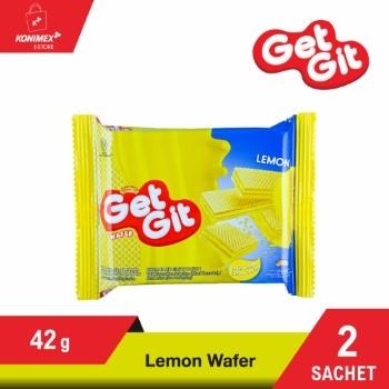 GET GIT WAFER LEMON 42 G – 2 sachet