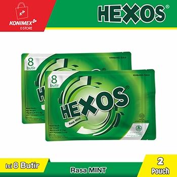 Hexos Mint (2 pouch)