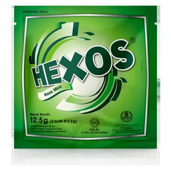 HEXOS Mint (dijual per 3 sachet)