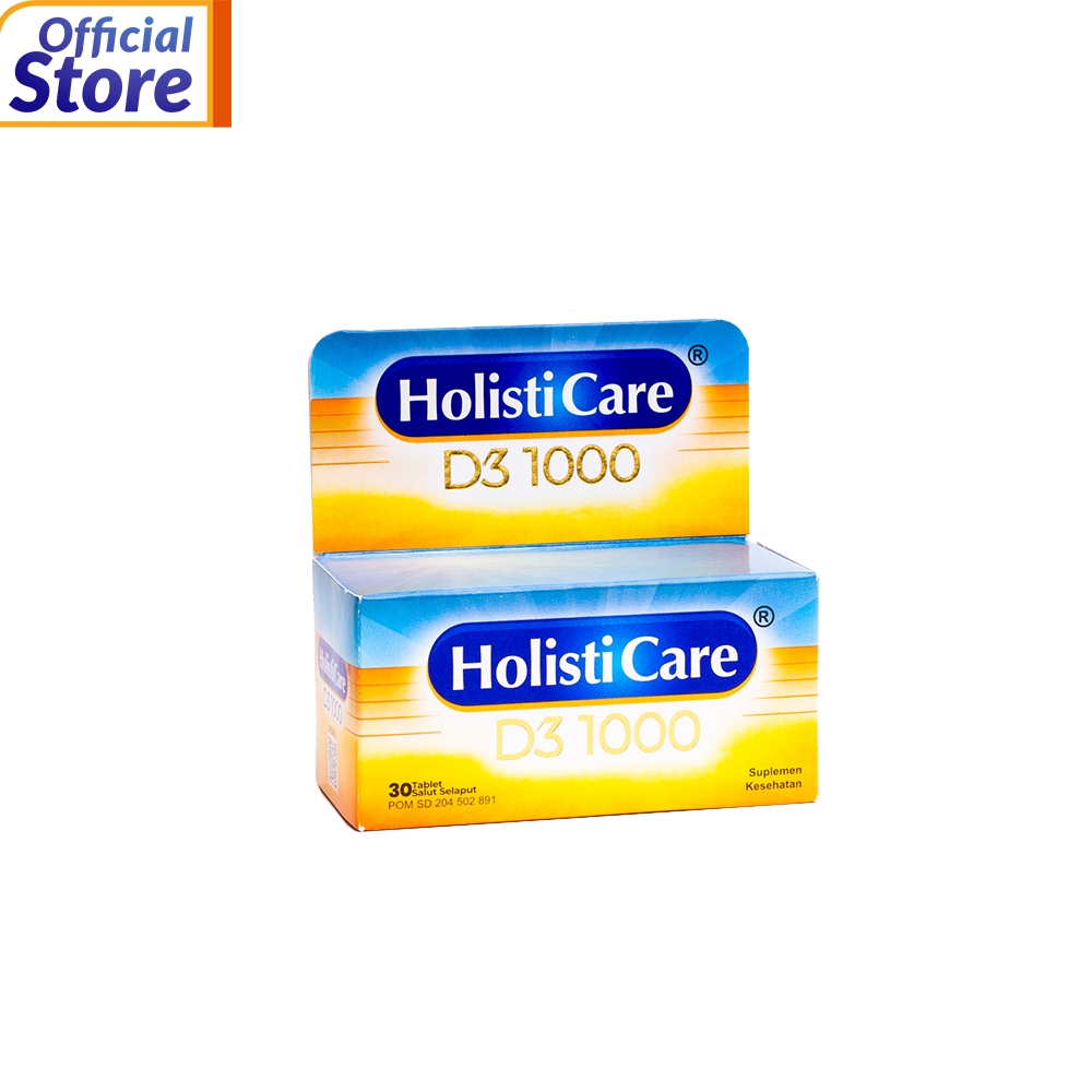Holisticare D3 1000 30 TABLET
