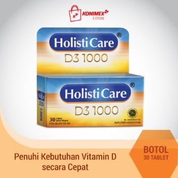 Holisticare D3 1000 30 TABLET