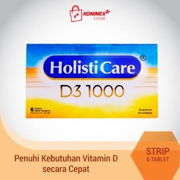 Holisticare D3 1000 6 TABLET