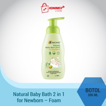 Konicare Natural Baby Bath 2 in 1 for Newborn Botol