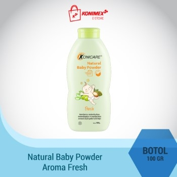 Konicare Natural Baby Powder Fresh 100g