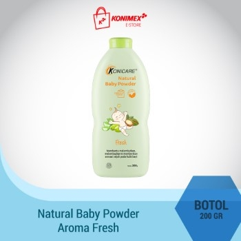 Konicare Natural Baby Powder Fresh 200g