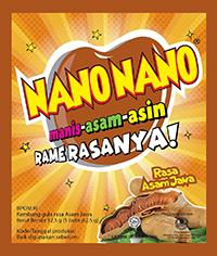 NANO NANO ASEM JAWA (dijual per 3 sachet)