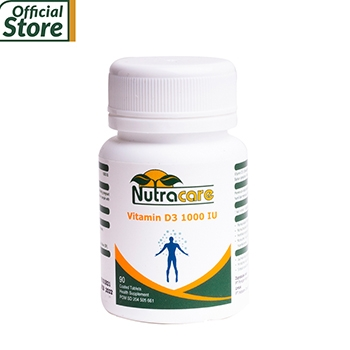 NUTRACARE Vitamin D3 1000 IU 90 TABLET
