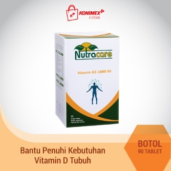 NUTRACARE Vitamin D3 1000 IU 90 TABLET