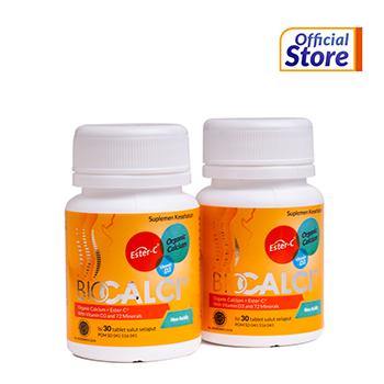 Paket Special Idul Fitri Biocalci berisi 2 Botol Biocalci