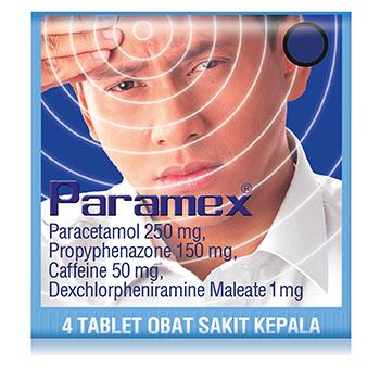 PARAMEX Obat Sakit Kepala (dijual per 3 strip)